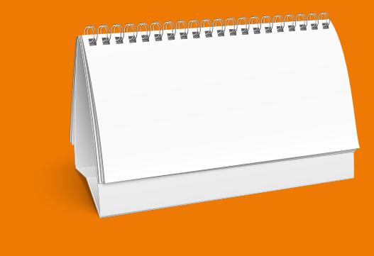Calendario En Blanco.Calendario Blanco Lince